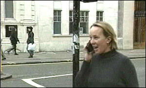 Woman talking on a mobile