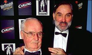 George Best with his father in August 2000 before he was diagnosed with liver problems