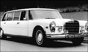 John Lennon's custom made Limousine