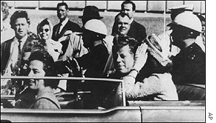 JFK driving through Dallas AP
