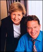 Sue Lawley with Michael Portillo