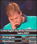 A Who Wants To Be A Millionaire? contestant