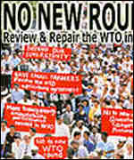 Protesters mobilised against WTO talks