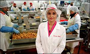 Perween Warsi, founder and managing director of S&A Foods