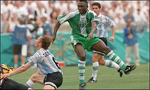amokachi vs argentina at olympics
