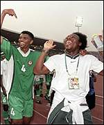 amokachi at 2000 nations cup