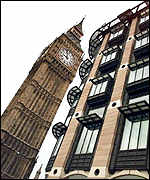Portcullis House and Big Ben