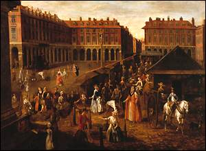 Covent Garden Piazza by Joseph van Aken
