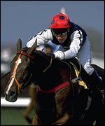 Jason Titley rides Royal Athlete to victory in 1995
