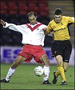 Calderon during his Airdrie days