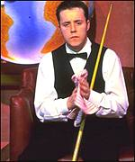 John Higgins sits down atThe Crucible