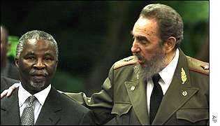 Thabo Mbeki and Fidel Castro