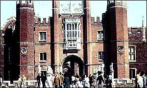 Hampton Court Palace BBC