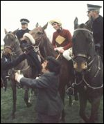 Red Rum after his first Grand National victory