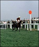 Red Rum becomes the back-to-back National winner since 1936