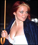 [ image: Geri Halliwell: top earner as former spice]
