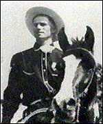 Monty Roberts as a young man