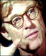 [ image: Actor Robert Redford takes on the film role]