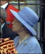 [ image: Queen: head of the Church of England]