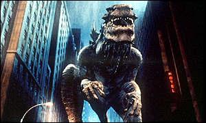 and thumbs Godzilla
