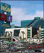 The MGM Grand in Las Vegas
