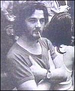 Joschka Fischer as a young radical