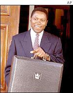 Finance Minister Simba Makoni