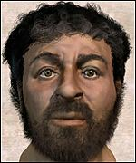 Computer generated image of what Jesus may have looked like