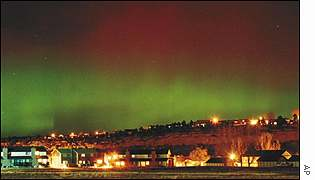 Aurora Borealis, the northern lights