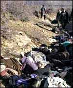 Milosevic is wanted for crimes against humanity including the massacre of hundreds of ethnic Albanians