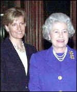 Countess of Wessex and the Queen