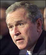President Bush opposes the Kyoto treaty
