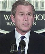 President Bush made an announcement on the agreement.