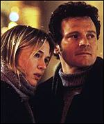 Renee Zellweger and Colin Firth in Bridget Jone's Diary