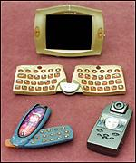 Prototype Ericsson 3G phones