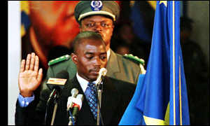 Joseph Kabila sworn in