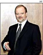 UK Foreign Secretary Robin Cook