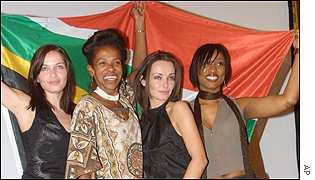 Caroline Corr, Cheryl Carolus, Sharon Corr and Beverly Knight