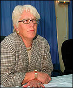Hague tribunal chief prosecutor Carla del Ponte