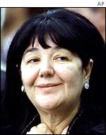 Milosevic's wife Mirjana Markovic