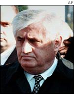 Former Serbian Minister of the Interior Vlajko Stojiljkovic