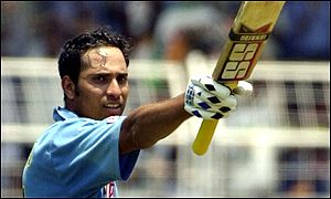 Laxman added just one more run to score 101 off 107 balls