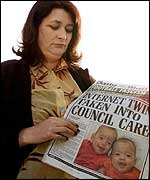 Judith Kilshaw reads the Daily Mail