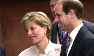 Countess of Wessex and Prince Edward at an engagement on Friday