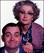 Caroline Aherne and Craig Cash