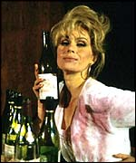 Joanna Lumley in AbFab