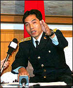 Chinese fighter pilot Zhao Yu