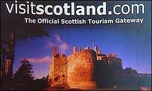 visitscotland promotional sign