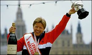 Norway's Ingrid Kristiansen won in London four times
