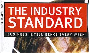The last cover of Industry Standard Europe